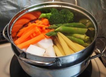 Aprende c mo cocinar al vapor - Como cocinar verduras al vapor ...