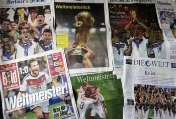 Mario Götze, el 'Dios del futbol': Prensa alemana