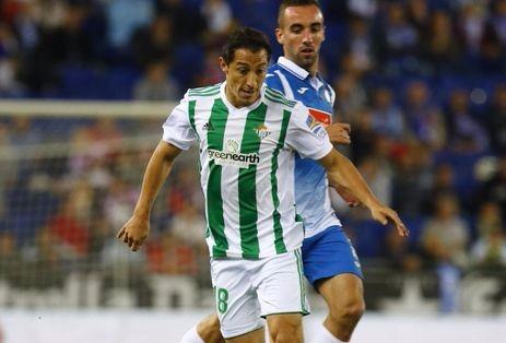 El Espanyol vence al Real Betis de Guardado