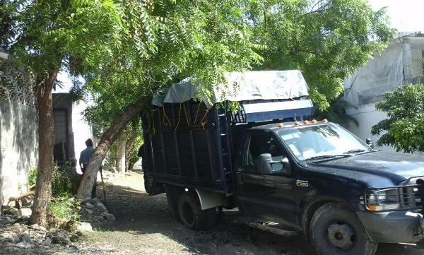 camioneta sin cortar