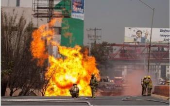 Gas natural se deslinda de explosi n en nuevo le n for Imagenes de gas natural