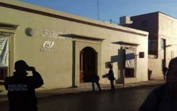 Atacan con explosivo oficinas de prodecon en oaxaca for Oficina del contribuyente